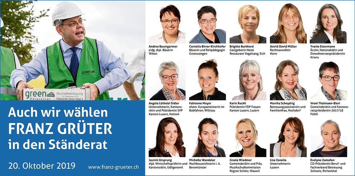 Franz Grüter - Ständerat 2019